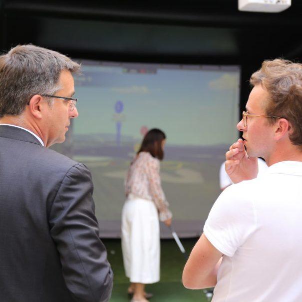 Avantages simulateur golf