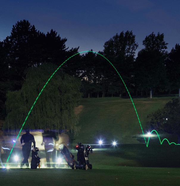MAKEITGOLF golf de nuit