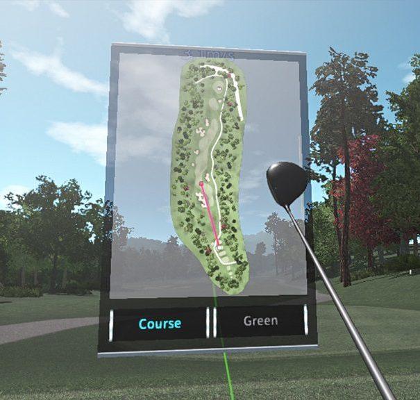 Golf jeux vr