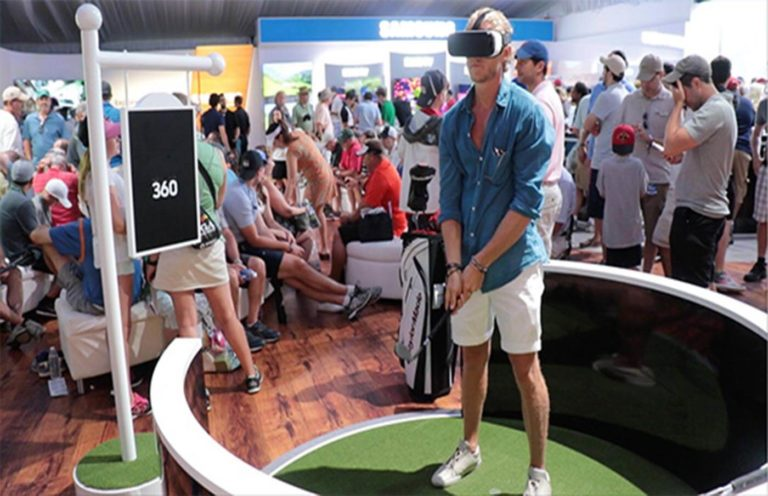 Salon Golf video 360