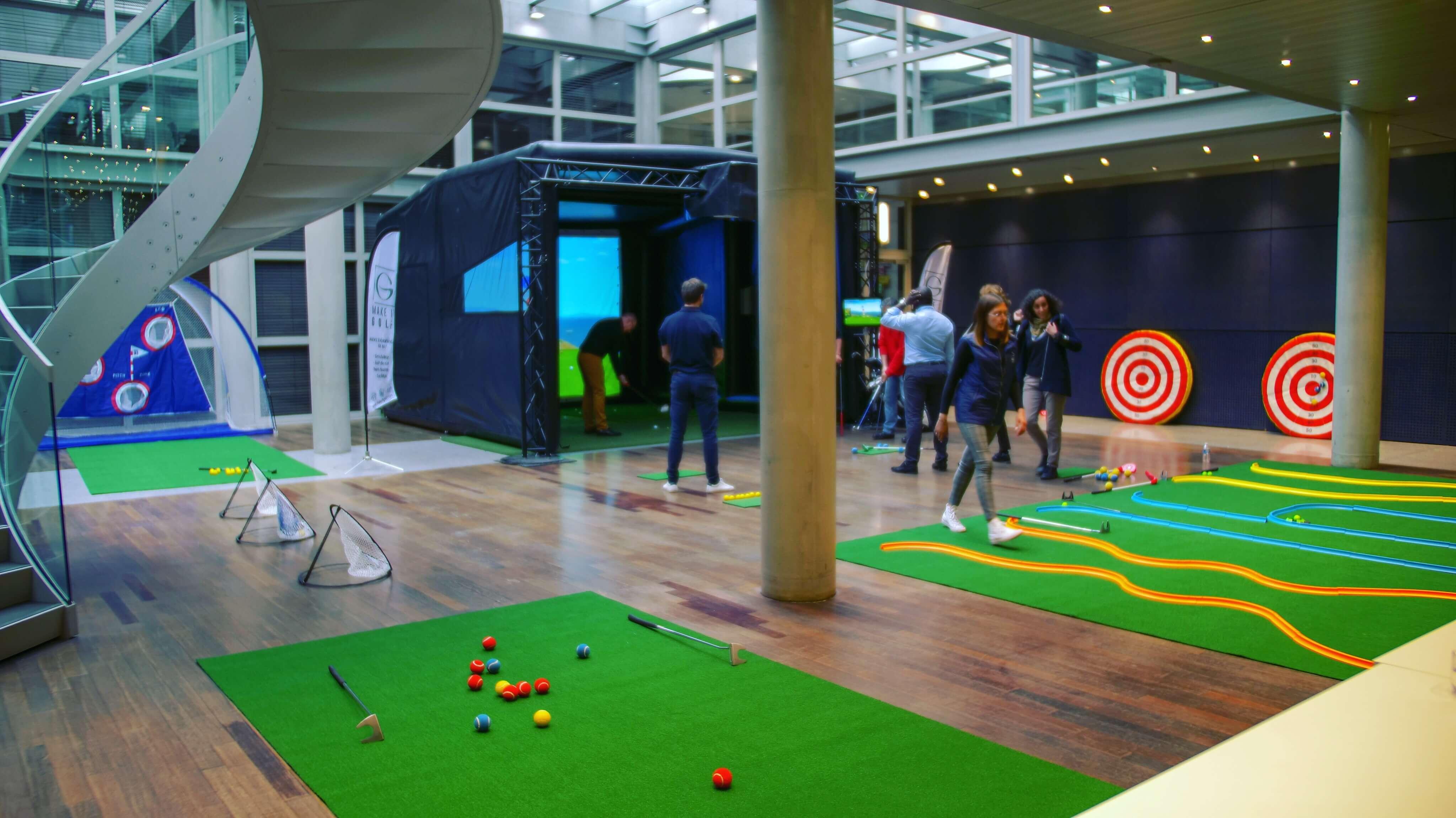 animation golf