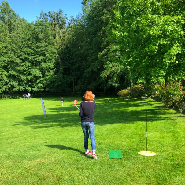 découverte du golf