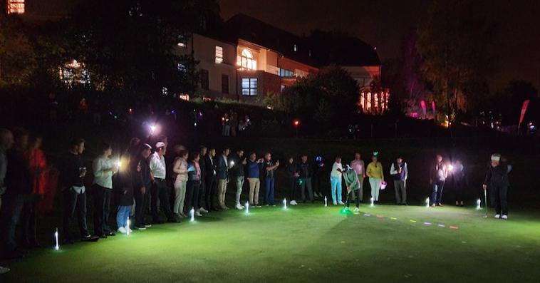 golf de nuit entreprise