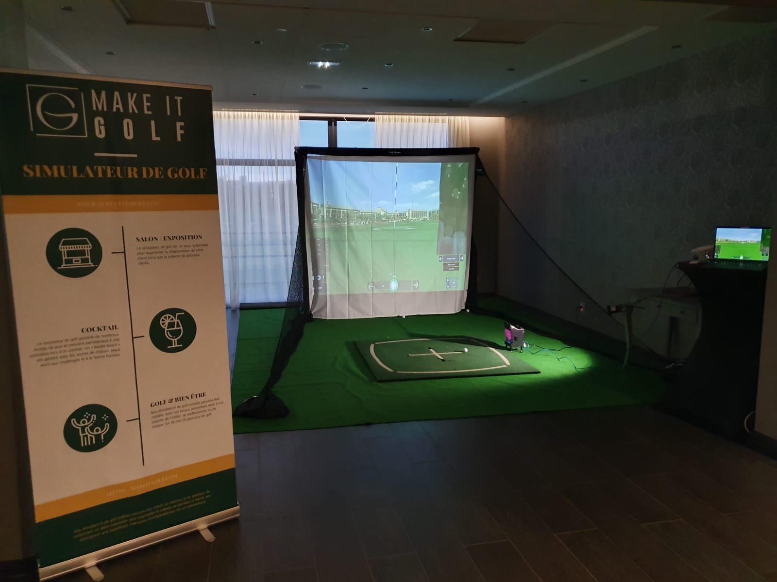 Golf simulateur
